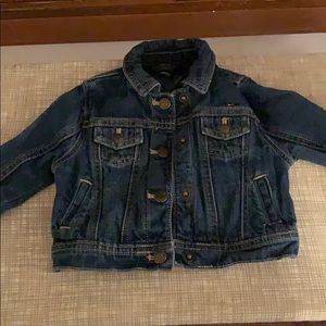 Tommy Baby Girl Jean Jacket Used